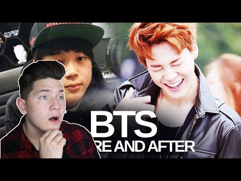 BTS - Predebut Vs Now : Before and After REACTION | THE GLOW-UPS ARE REAL