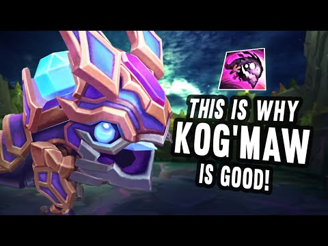 This is why Kog'Maw is good!
