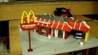mth o scale mcdonalds