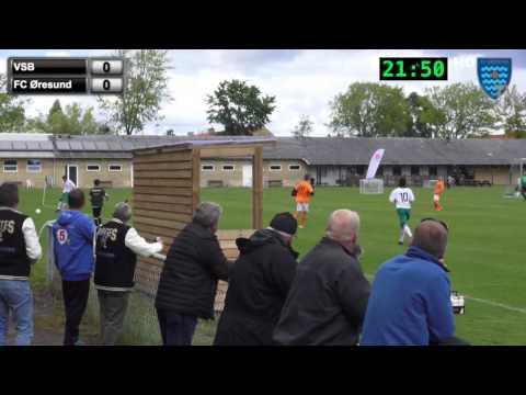 Virum-Sorgenfri - FC Øresund - Sjællandsserien 1. Halvleg 30/05/2015