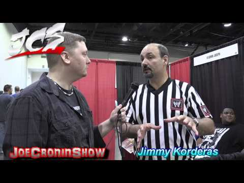 WWE Referee- JIMMY KORDERAS - Interview Joe Cronin