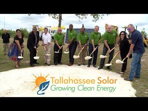 Solar Farm Groundbreaking in Tallahassee