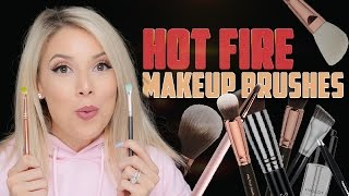 Hot Fire Makeup Brushes & Tools | Lustrelux