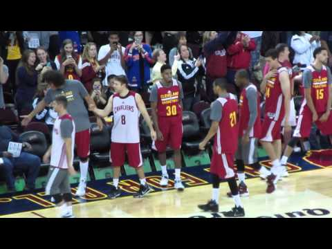 Cavs Scrimmage!  10/5/15 - Day 1,762