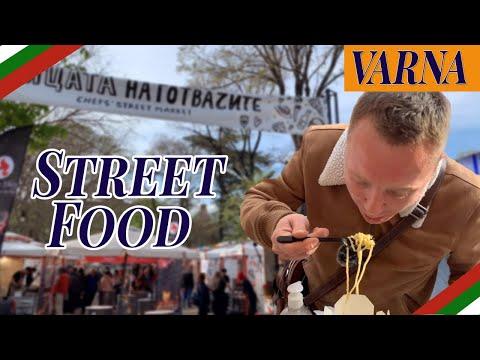 Varna Bulgaria, Street Food Pt1 (Chef's Street Market)