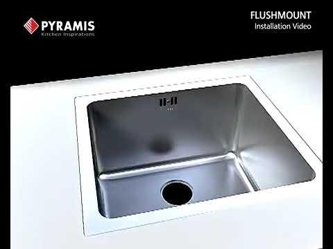 Pyramis Flushmount Sink Installation Video