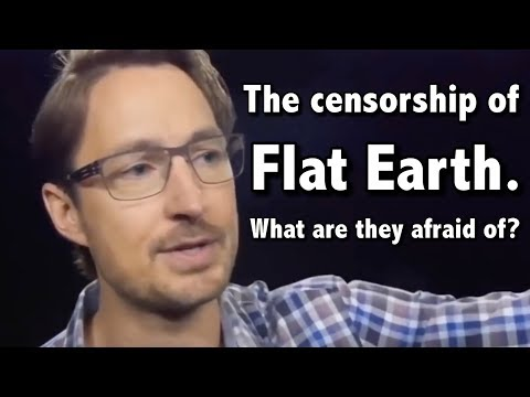Congress to the censorship of flat earth, what are they afraid of? thumbnail
