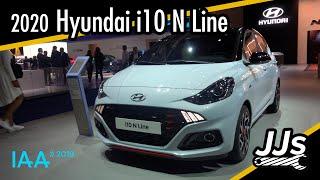 Erster Eindruck/Walkaround 2020 Hyundai i10 N Line @ IAA 2019 Deutsch //JJsGarage