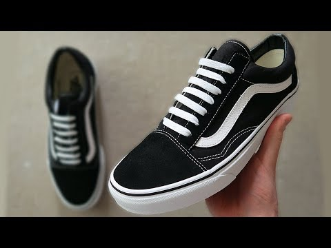 HOW TO BAR LACE VANS OLD SKOOLS (BEST