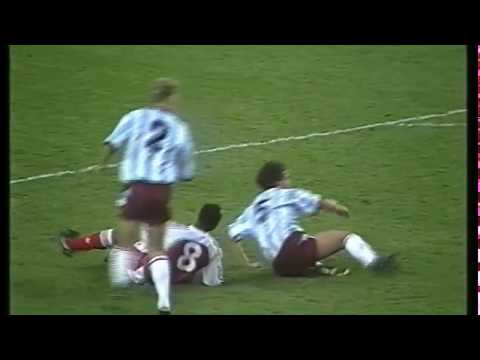 Arsenal 0-1 West Ham 2nd November 1991