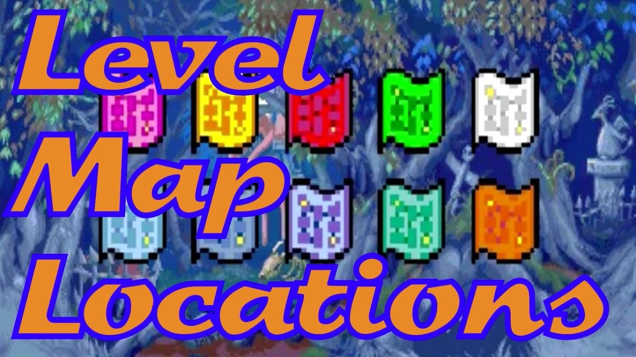 kirby the amazing mirror level map locations youtube