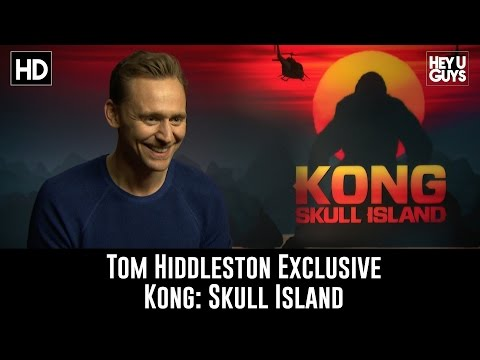 Tom Hiddleston Exclusive Interview - Kong: Skull Island