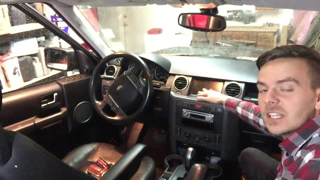 medium resolution of land rover lr3 stereo replacement