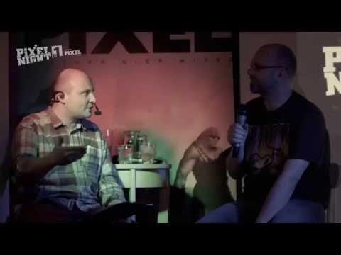 Adrian Chmielarz na Pixel Night - całość rozmowy. 16.04.2015.