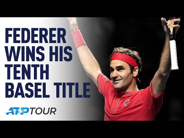 Brilliance In Basel: Federer's Perfect 10 | TALES OF THE TOUR | ATP