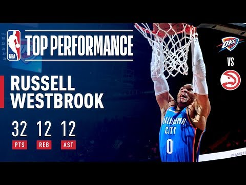Russell Westbrook Notches 100th Career Triple Double!!!