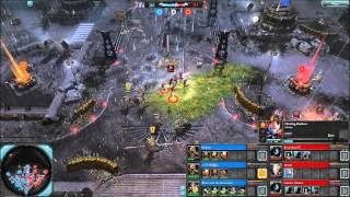 DoW2-Elite 3v3 Helgron + Fish + Doorkeeper vs BrownBear + ishome + CheekieMonkie