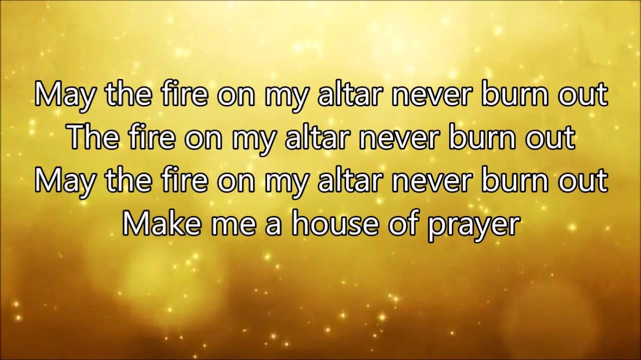 Lyrics for let it burn