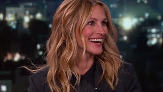 Julia Roberts Meets 9 Other Julia Robertses On Jimmy Kimmel | What's Trending Now