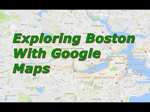Exploring Boston Suburb With Google Maps - YouTube