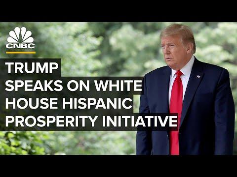 President Trump signs an executive order on Hispanic Prosperity Initiative — 7/9/2020