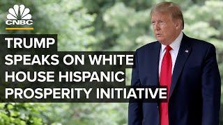President Trump Signs An Executive Order On Hispanic Prosperity Initiative ⁠— 7/9/2020