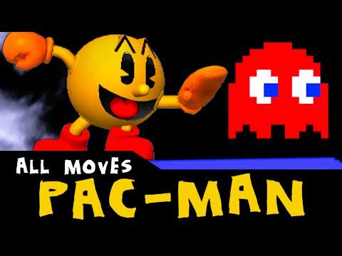 PAC-MAN - All Custom Moves   Super Smash Bros. 3DS
