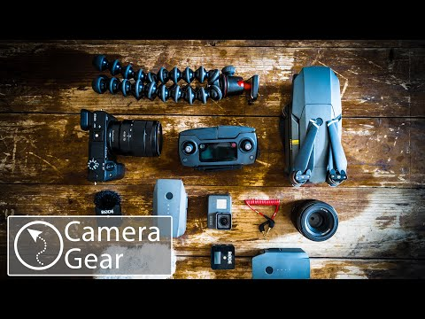 Our CAMERA GEAR We Use To Film Our TRAVEL Videos