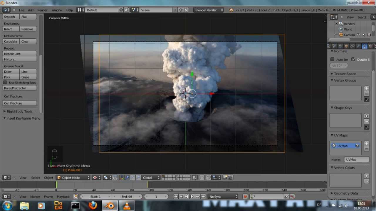 Animate A Still Image  Blender Tutorial