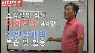 [현단명리] 매화역수 44강 안면작괘법 복습및 활용