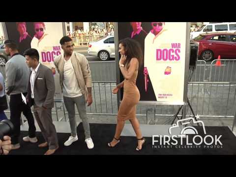 D'Angelo Russell, Julius Randle at War Dogs LA premiere
