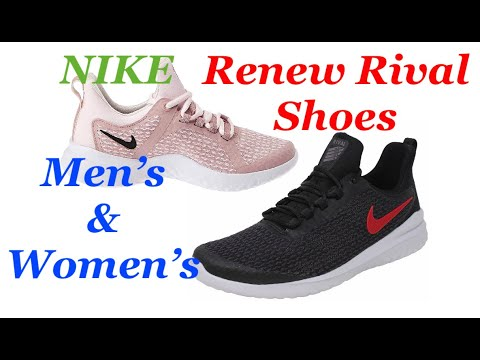 Pulido lavandería monitor  Nike Renew Rival Running Shoes | Men's and Women's | Unboxing | Review |  Amazon - YouTube