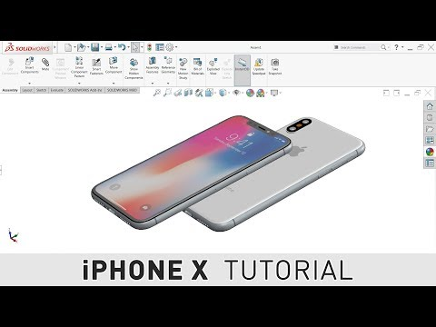 IPHONE X - SOLIDWORKS MODELING TUTORIAL