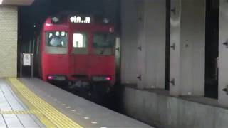 名鉄100系(200系) 215F 赤池行き 鶴舞線大須観音駅発車