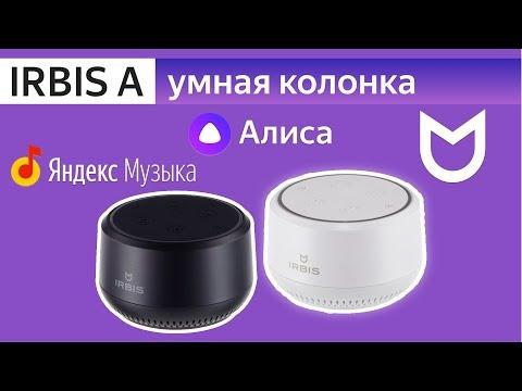 IRBIS A колонка с Алиса лучше чем Яндекс Станция обзор