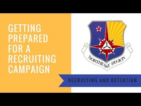 Getting Prepared for a Recruiting Campaign