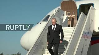 REFEED: Putin's visit to Khmeimim Airbase in Syria's Latakia province - ENGLISH