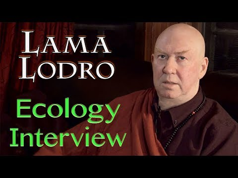 HOPE for the Future : LAMA LODRO Ecology Interview with Chad Cornell (for Our Common Roots)