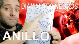 ANILLO DIAMANTES NEGROS (Black diamonds ring)