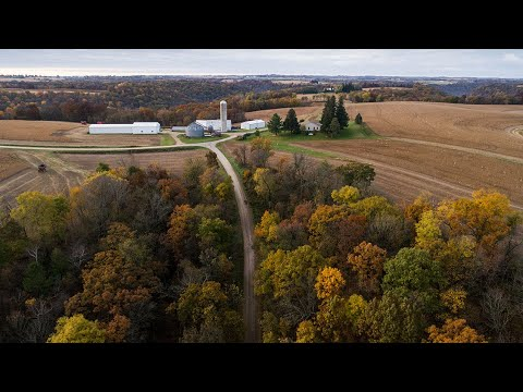 Fully Functioning 194 Acre Farm With A Well Maintained Home For Sale (Crawford County, WI)