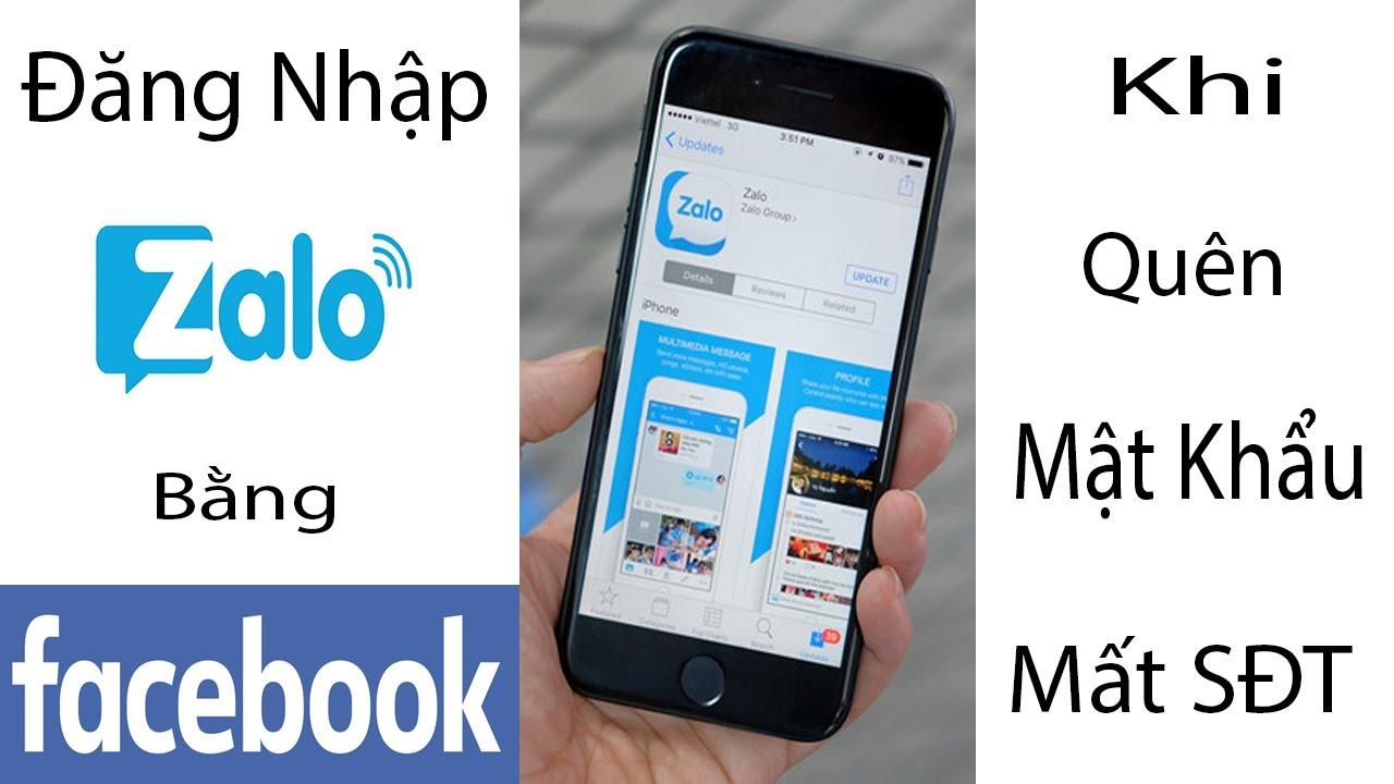 Cách đăng nhập Zalo khi quên Mật Khẩu và SĐT | Đăng nhập Zalo bằng tài khoản Facebook mới nhất
