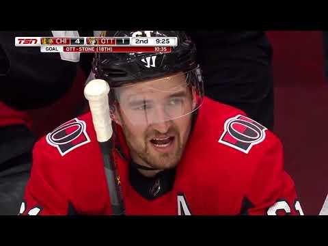 NHL CHICAGO BLACKHAWKS vs OTTAWA SENATORS  9 1 18