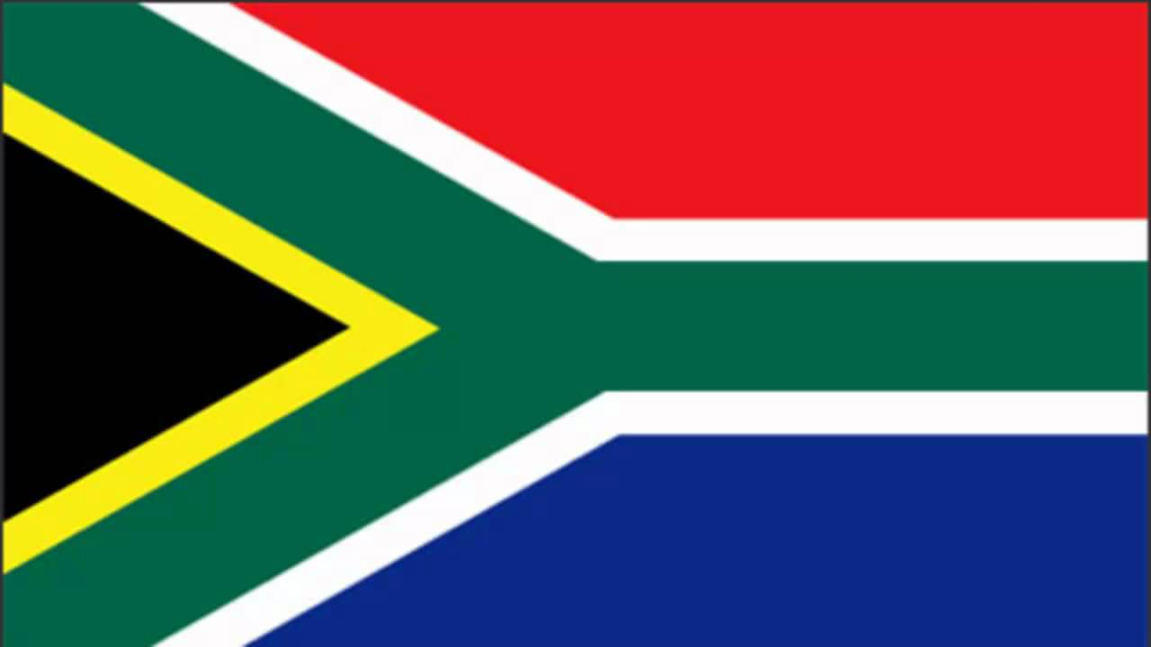 South Africa Flag and Anthem - YouTube