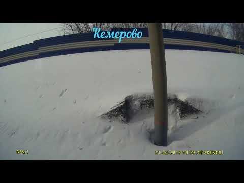 Россия из окна поезда Кемерово Москва серия 1