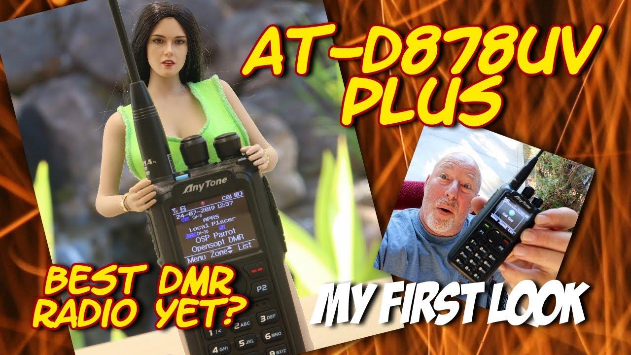 First impressions | Anytone AT-d878UV Plus DMR Ham Radio