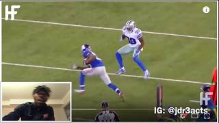 Reaction Video Best Jukes In Football History Reaction Dudes Out There On Skates LMFAO
