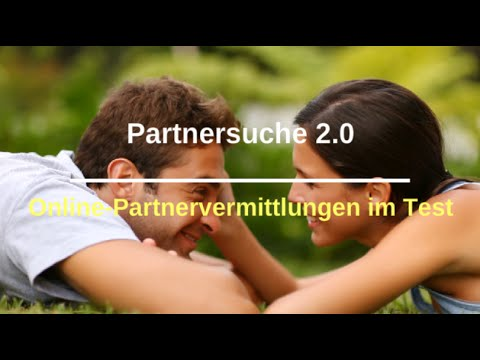 Partnervermittlung internet test