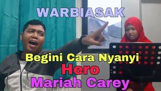 Vocalizing Plus Cara Nyanyi Lagu Hero Mariah Carey #privatevocal