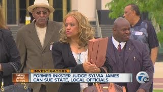 Former Inkster Judge Sylvia James can sue state, local officials
