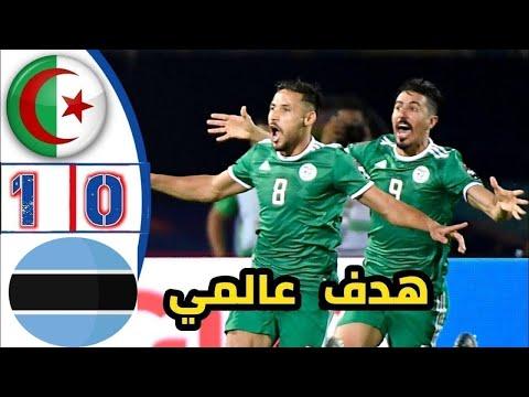 ملخص مباراة الجزائر و بوتسوانا 0-1 Algérie vs Botswana  هدف بلايلي العالمي حفيظ دراجي 🔥